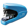 Flat Clinch Light Effort Stapler, 35-Sheet Capacity, Blue
