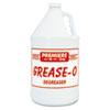 Premier Grease-O Extra-Strength Degreaser, 1gal, Bottle, 4/carton