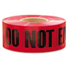 1,000 Ft. X 3 In. danger Do Not Enter Barricade Tape (red)
