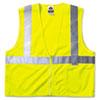 Glowear Class 2 Standard Vest, Lime, Mesh, Zip, Large/x-Large