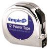 Power Tape Measure, 5/8 X 12ft, Black Case