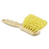 Utility Brush, Polypropylene Fill, 8 1/2 Long, Tan Handle