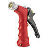 Insulated Grip Nozzle, Pistol-Grip, Zinc/brass/rubber, Red