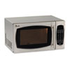 Image of 0.9 Cubic Foot Capacity Stainless Steel Microwave Oven, 900 Watts