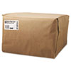 1/6 Bbl Paper Grocery Bag, 52lb Kraft, Standard 12 X 7 X 17, 500 Bags