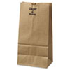 #4 Paper Grocery Bag, 50lb Kraft, Extra-Heavy-Duty 5 X 3 1/8 X 9 3/4, 500 Bags