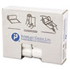 """HIGH-DENSITY COMMERCIAL CAN LINERS, 10 GAL, 6 MICRONS, 24"""" X 24"""", NATURAL, 1,000/CARTON"""