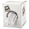 Counter Cloth/bar Mop, White, Cotton, 12/bag, 5 Bags/carton
