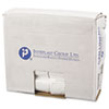 Commercial Can Liners, Perforated Roll, 16gal, 24 x 33, Natural, 1000/Carton