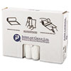 High-Density Can Liner, 33 x 40, 33gal, 11mic, Clear, 25/Roll, 20 Rolls/Carton