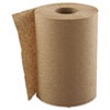 """Hardwound Roll Towels, 1-Ply, Natural, 8"""" x 300 ft, 12 Rolls/Carton"""