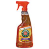 Oil Soap Multi-Use Wood Cleaner, Orange Scent, 22oz Spray Bottle, 12/Carton