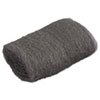 Industrial-Quality Steel Wool Hand Pad, #00 Very Fine, 16/Pack, 192/Carton