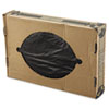 LINEAR LOW-DENSITY ECOSAC, 38 X 60, 55-GAL, 0.82 MIL, BLACK, 100/CARTON