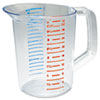 Bouncer Measuring Cup, 32oz, Clear 3216CLE