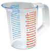 Bouncer Measuring Cup, 16oz, Clear 3215CLE