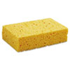 Medium Cellulose Sponge, 3 2/3 X 6 2/25, 1.55 Thick, Yellow, 24/carton