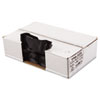 Perforated Coreless Roll Can Liner, 1.6 Mil, 33x39, Black, 10 Bag/Roll, 10 RL/CT