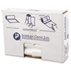 High-Density Can Liner, 30 x 36, 30gal, 13mic, Clear, 25/Roll, 20 Rolls/Carton