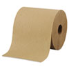 "Hardwound Roll Towels, 8"" X 800ft, Brown, 6 Rolls/carton"