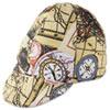 Reversible Soft Brim Comfort Crown Cap, Cotton, Asst Colors, Size 7 1/4, 12/pack
