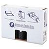 Low-Density Can Liner, 38 X 58, 60gal, 1.4mil, Black, 20/roll, 5 Rolls/carton
