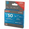 T50 Heavy Duty Staples, 1/2 Leg, 1250/pack