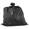 """HEAVYWEIGHT CONTRACTOR BAGS, 33 GAL, 2.5 MIL, 33"""" X 40"""", BLACK"""