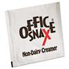 Office Snax® Premeasured Single-Serve Packets, Powder Non-Dairy Creamer, 800/Carton OFX00022CT