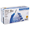 Tnt Disposable Nitrile Gloves, Non-Powdered, Blue, Large, 100/box
