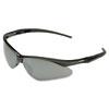 Nemesis Safety Glasses, Black Frame, Amber Lens