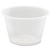 Conex Complements Portion/Medicine Cups, 4oz, Clear, 125/Bag, 20 Bags/Carton 400PC