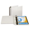 """Top Performance DXL Angle-D View Binder, 4"""" Capacity, White"""