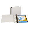 """Top Performance DXL Angle-D View Binder, 3"""" Capacity, White"""