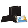 "Top Performance DXL Angle-D View Binder, 3"" Capacity, Black"