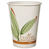 Post-consumer recycled fiber hot drink cups.