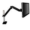 Easy-Adjust Monitor Arm, 4 1/2 X 25 1/2, Black Gray
