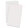 Scratch Pad Notebook, Unruled, 3 x 5, White, 100 Sheets, Dozen