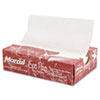"""Eco-pac Natural Interfolded Dry Wax Paper, 8"""" X 10.75"""", 500/box, 12 Boxes/carton"""