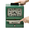 Model 125 Analog Manual Print Time Clock With Date/0-12 Hours/minutes