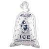 BAG,ICE,10LB,TWIST TIE