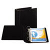"Top Performance DXL Angle-D View Binder, 4"" Capacity, Black"