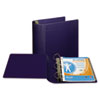 "Top Performance DXL Angle-D View Binder, 4"" Capacity, Dark Blue"