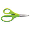 Children's Safety Scissors, Pointed, 5 in. Length, 1-3/4 in. Cut
