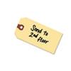 Unstrung Shipping Tags, 13-Pt. Stock, 2 3/4 X 1 3/8, Manila, 1,000/box