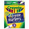 Extreme Color Marker, Assorted, 8/Pack 588175