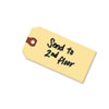 Unstrung Shipping Tags, 13-Pt. Stock, 6 1/4 X 3 1/8, Manila, 1,000/box