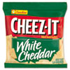 Cheez-It Crackers, 1.5oz Single-Serving Snack Bags, White Cheddar, 8/Box