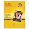 Kodak Ultra Premium Photo Paper, 10 mil, High-Gloss, 8-1/2 x 11, 25 Sheets/Pack KOD8366353