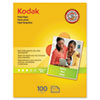 Kodak 8.5 x 11 Matte Photo Paper, 100 Sheets